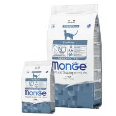 Купить MONGE CAT Monoprotein Sterilised с форелью - 400 г Фото 1 недорого с доставкой по Украине в интернет-магазине Майзоомаг
