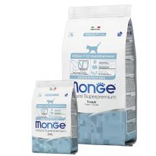 Купить MONGE CAT Monoprotein Kitten с форелью - 400 г Фото 1 недорого с доставкой по Украине в интернет-магазине Майзоомаг