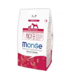 Купить MONGE DOG Mini Starter для собак мелких пород до 10кг - 15 кг Фото 1 недорого с доставкой по Украине в интернет-магазине Майзоомаг