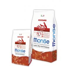 MONGE DOG All breeds Adult ягненок с рисом - 15 кг