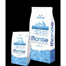 Купить MONGE DOG All breeds Adult Light лосось с рисом - 12 кг Фото 1 недорого с доставкой по Украине в интернет-магазине Майзоомаг