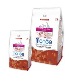 Купить MONGE DOG Extrasmall Adult ягненок/картофель - 2,5 кг Фото 1 недорого с доставкой по Украине в интернет-магазине Майзоомаг