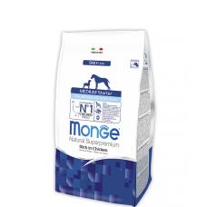Купить MONGE DOG Medium Starter для собак от 10кг до 80кг - 1,5 кг Фото 1 недорого с доставкой по Украине в интернет-магазине Майзоомаг