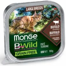 MONGE BWILD WET CAT для кошек крупных пород с 2-х месяцев - 100 г