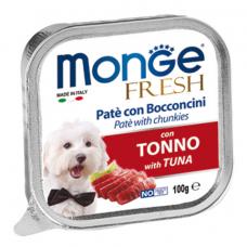 MONGE DOG FRESH c тунцом - 100 г