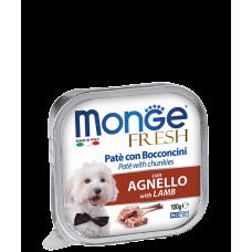 Купить MONGE DOG FRESH c ягненком - 100 г Фото 1 недорого с доставкой по Украине в интернет-магазине Майзоомаг