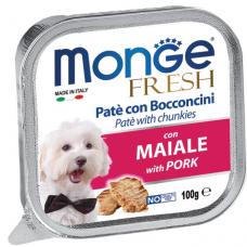 MONGE DOG FRESH cо свининой - 100 г
