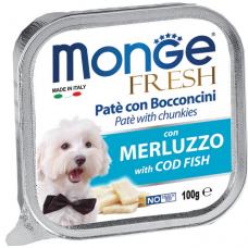 Купить MONGE DOG FRESH c треской - 100 г Фото 1 недорого с доставкой по Украине в интернет-магазине Майзоомаг
