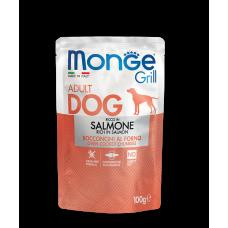 Купить MONGE DOG GRILL с лососем - 100 г Фото 1 недорого с доставкой по Украине в интернет-магазине Майзоомаг