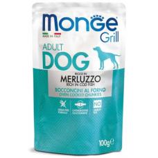 Купить MONGE DOG GRILL с треской - 100 г Фото 1 недорого с доставкой по Украине в интернет-магазине Майзоомаг