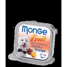 Купить MONGE DOG FRUIT c уткой и апельсином - 100 г Фото 1 недорого с доставкой по Украине в интернет-магазине Майзоомаг