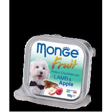 Купить MONGE DOG FRUIT с лососем и грушей - 100 г Фото 1 недорого с доставкой по Украине в интернет-магазине Майзоомаг