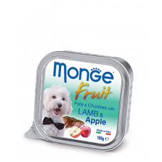 MONGE DOG FRUIT с лососем и грушей - 100 г