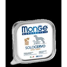 Купить MONGE DOG SOLO 100% оленина - 150 г Фото 1 недорого с доставкой по Украине в интернет-магазине Майзоомаг