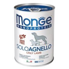 Купить MONGE DOG SOLO 100% ягнёнок - 400 г Фото 1 недорого с доставкой по Украине в интернет-магазине Майзоомаг
