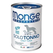 Купить MONGE DOG SOLO 100% тунец - 400 г Фото 1 недорого с доставкой по Украине в интернет-магазине Майзоомаг