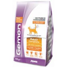 GEMON CAT Adult Complete курица с индейкой - 1,5 кг