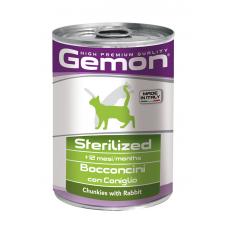 Купить GEMON CAT WET Sterilised кролик - 415 г Фото 1 недорого с доставкой по Украине в интернет-магазине Майзоомаг