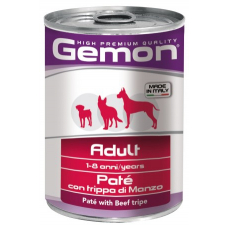 Купить GEMON DOG WET Adult паштет с говяжьим рубцом - 400 г Фото 1 недорого с доставкой по Украине в интернет-магазине Майзоомаг