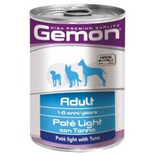 Купить GEMON DOG WET Adult лайт паштет с тунцом - 400 г Фото 1 недорого с доставкой по Украине в интернет-магазине Майзоомаг