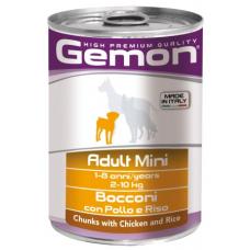 Купить GEMON DOG WET Mini Adult кусочки с курицей и рисом - 415 г Фото 1 недорого с доставкой по Украине в интернет-магазине Майзоомаг