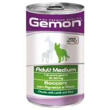 Купить GEMON DOG WET Medium Adult кусочки с ягненком и рисом - 1,25 кг Фото 1 недорого с доставкой по Украине в интернет-магазине Майзоомаг